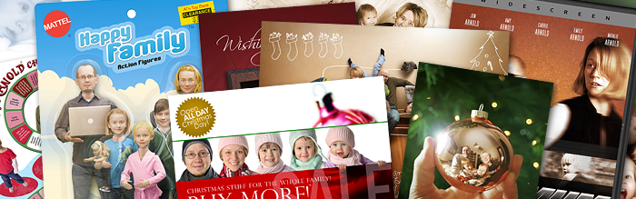 creative christmas cards - Christmas Photo Cards Ideas