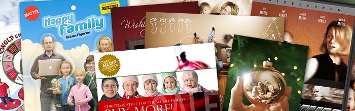 Clever Christmas Cards Ideas.Creative Christmas Cards